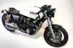 Yamaha XJ400 made by Ellaspede in Brisbane.