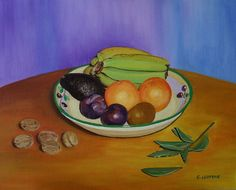 Título: Frutero, nueces y laurel. Propietario: Blanca Cogollos