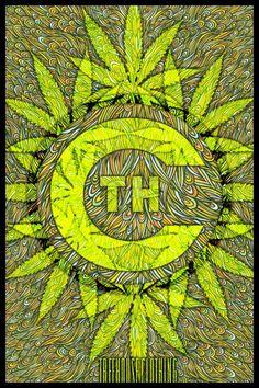 Cannabis art- Power of Attraction. Curated cannabis art board via #brainwitch