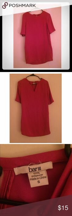 Bar III Pink Dress Adorable loose fitting dress; like new condition Bar III Dresses