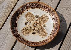 Ceramic ethnic dish