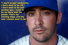 He always strives to be the best. | 11 Reasons Matt Harvey Should Be The Jets Quarterback