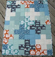 buttons quilts: Plus One