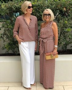 Best Fashion Tips For Women Over 60 - Fashion Trends Mature Fashion, Fashion For Women Over 40, Fashion Over 50, Plus Size Fashion, Fashion Looks, Mode Outfits, Chic Outfits, Fashion Outfits, Fashion Trends
