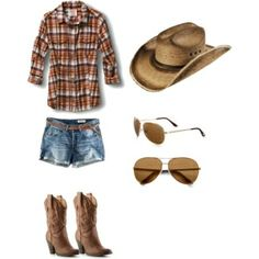 Summer Country Concert Outfit!!, created by Candice Carter by leanne