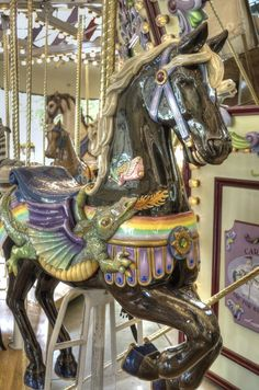 Riverfront Carousel~Salem, OR | Lisa's Photoscapes