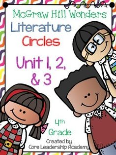 Thinkmark Literature Circle graphic organizer ~ Unit 1,2,&3~There are 4 different levels approaching, on, ell, and advance for each Unit! Great for literacy centers! Enjoy!Unit 1~ 24 organizersUnit 2~ 24 organizersUnit 3~ 24 organizers