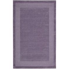 Nourison Westport Textured Grid Wool Decorative Rug