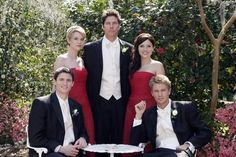 One Tree Hill - Peyton Sawyer (Hilarie Burton)  Uncle Cooper  Brooke Davis (Sophia Bush)  Nathan Scott (James Lafferty)  Lucas Scott (Chad Michael Murray)