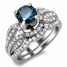 1.55ct Blue Round Diamond Engagement Ring Wedding Set 14k White Gold Front Jewelers,http://www.amazon.com/dp/B008UWXOTE/ref=cm_sw_r_pi_dp_Bse4sb04QYE09D7Y