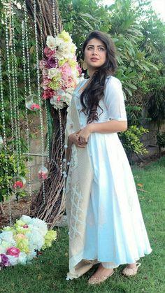 Pakistani Dress Design, Pakistani Dresses, Indian Dresses, Indian Outfits, Floral Dress Outfits, Summer Dress Outfits, Maxi Dresses, Bridal Dresses, Fashion Dresses
