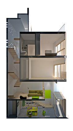 Gallery of Micro Town House 4x8m / MM++ architects + José Antonio Coderch - 18