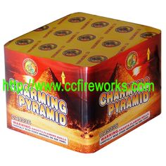 36s Charming Pyramid (CA5036) Fireworks from CC FIREWORKS CO.LTD on YYUber.com