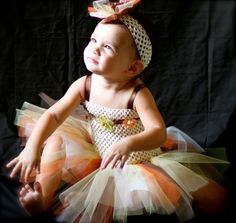 Thanksgiving Tutu Dress / Holiday Tutu Dress by ManaiaBabyDesigns, $29.00