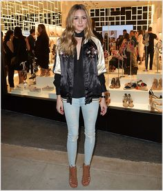 Olivia Palermo at Schutz Beverly Hills Opening in Los Angeles