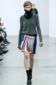 Cool skirt design // Iceberg Fall 2014 Ready-to-Wear Collection Slideshow on Style.com