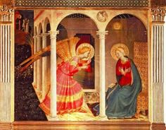 PAINTINGS of the ANNUNCIATION