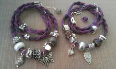 Bijoux bracelet charms pandora velvet touch