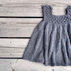 Ravelry: Roxy Romper & Roxy Dress pattern by Pernille Larsen Knitting For Kids, Baby Knitting Patterns, Crochet Baby, Knit Crochet, Knit Baby Dress, Ravelry, Doll Clothes, Knitwear, Summer Days