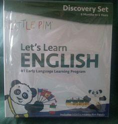 Little Pim: English/ESL, Eating and Drinking Wake Up Playtime DVD 2013 Plush