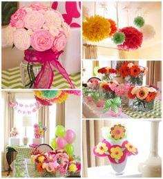 Flower Shop Themed Birthday Party with Lots of Cute Ideas via Kara's Party Ideas KarasPartyIdeas.com #flowershopparty #flowerparty #floral #partydecor #partyideas (13)