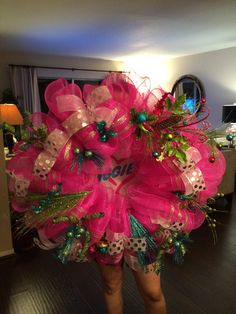 Hot Pink Wreath