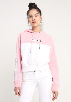 fila chelsea hooded sweat a capuche rosa - Leben Sport Outfits, Girl Outfits, Casual Outfits, Cute Outfits, Fashion Outfits, Womens Fashion, Fila Outfit, Clueless Outfits, Diy Vetement