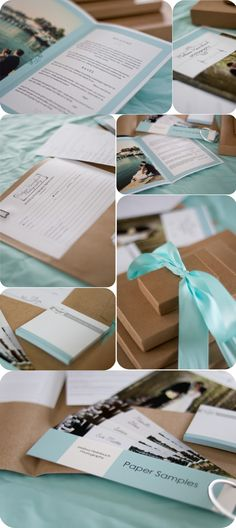 Blackbird Photography | Norfolk County Family and Wedding Photographer: A Welcome Package & Packaging