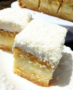 Greek Desserts, Greek Recipes, Greek Pastries, Delicious Desserts, Dessert Recipes, Cornbread, Vanilla Cake, Sweet Tooth, Cheesecake