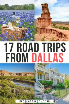 These are the all-time best road trips from Dallas. Here, we talk not only about day trips but also about weekend getaways from Dallas, including road trips to Austin, Houston, and Oklahoma. Check out! | Dallas Road Trip | Texas Road Trip | USA Road Trip