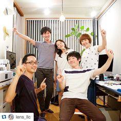 #Repost @lens_llc with @repostapp.  #lensllc #anniversary #studio #company #friend #groupphoto