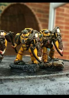 Pre - heresy Imperial Fists