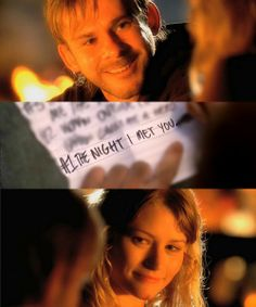 #1 The night I met you. I cry every time.