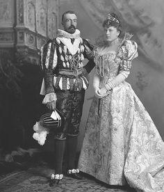 H.I.H. Grand Duke Michael Michailovitch of Russia (1861-1929); grandson of Tsar Nicholas I of Russia.  Sophia Nicholaievna, Countess de Torby