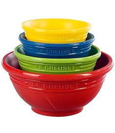 Le Creuset Prep Bowl Set-I love le Creuset!