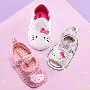 Hello Kitty infant / baby shoes event on #zulily today! #baby shoes #infant shoes