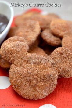 Mickey's Churro #Cookies #Mickey