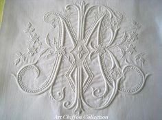 Image result for embroidered monograms