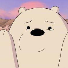 Ice Bear We Bare Bears, We Bear, Cute Bunny Cartoon, Happy Cartoon, Funny Phone Wallpaper, Bear Wallpaper, Cartoon Profile Pictures, Cartoon Pics, We Bare Bears Wallpapers