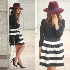 Sheinside Dress, Zara Bag