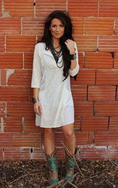 Camree  Jane Ivory Lace Detail Dress - Plus Size