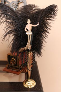 Great gatsby inspired roaring art deco by littlemissreese.