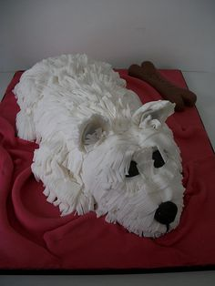 Westie cakes, @marceeKitchen what do I have to do!?!? haha so cute!