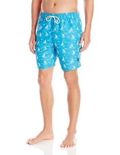 aa6c8be55b Introducing US Polo Assn Mens Sailboat Swim Short Surf Blue Small. Get Your  Ladies Products