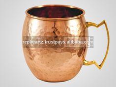 Hammere Moscow Mule Mug Copper Drinkware Mugs