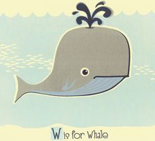 W-is-for-Whale by Strawberry Luna