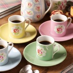 Cath Kidston espresso cups.