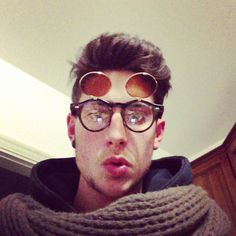 This sunglasses are very funny #fashion#cool#blogger