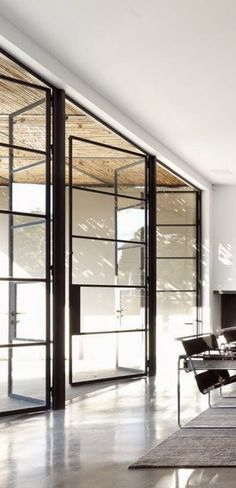 Trend: Interior Steel Doors and Windows