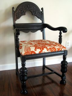 vintage refinished chair